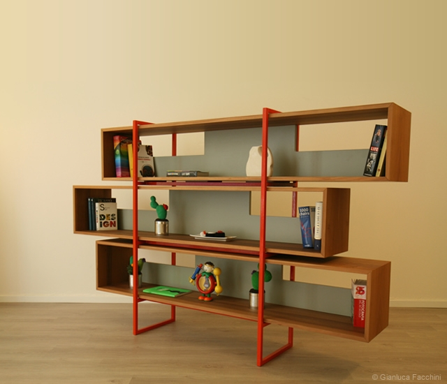 Libar bookcase | Image courtesy of Gianluca Facchini