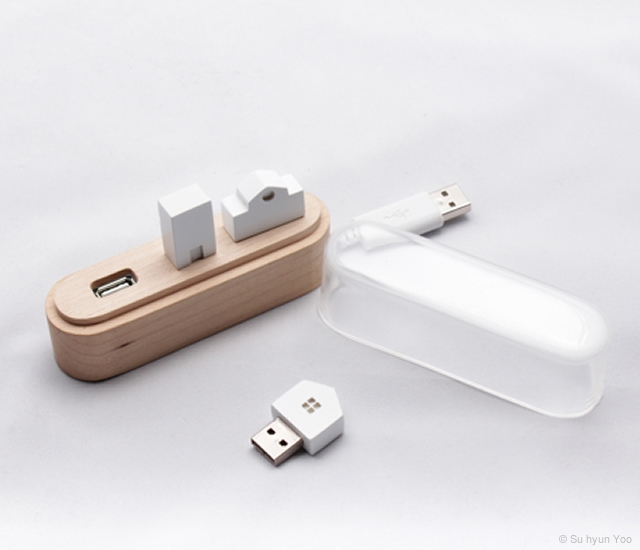Maison USB hub | Image courtesy of Su hyun Yoo