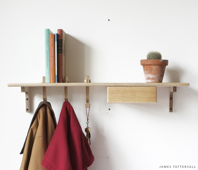 Hook shelf | Image courtesy of James Tattersall