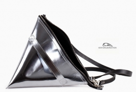 Milk pack silver clutch - thumbnail_1