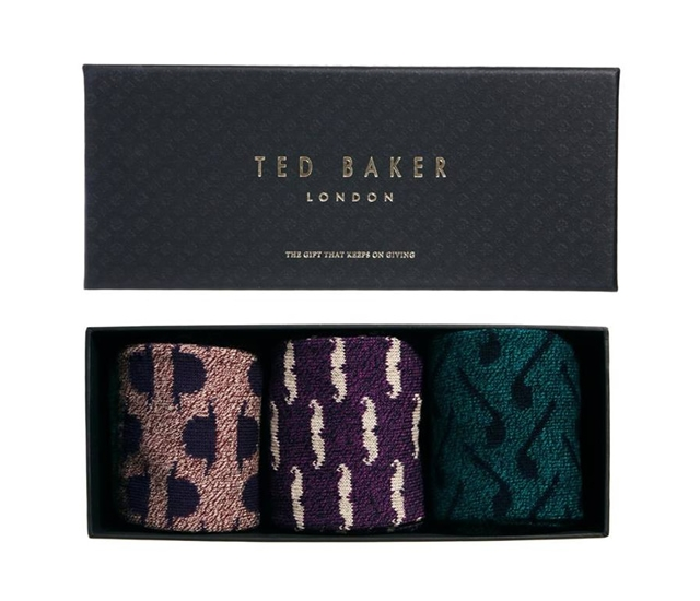 Ted Baker socks gift set | Image courtesy of Ted Baker