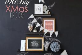 100 DIY XMas Tree