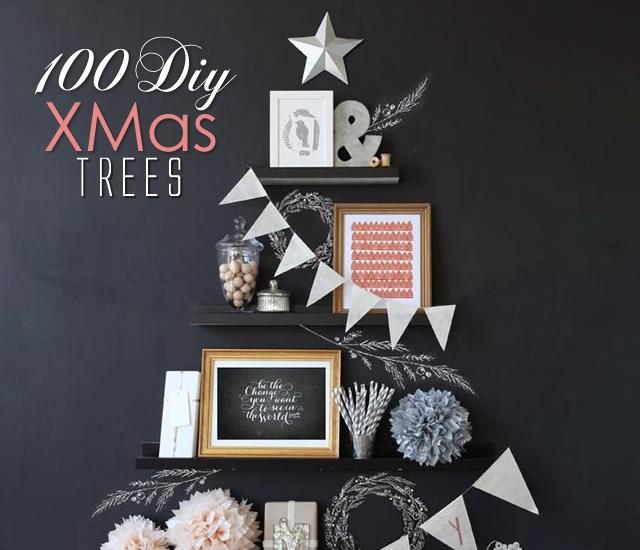100 Alberi di Natale Fai-da-Te