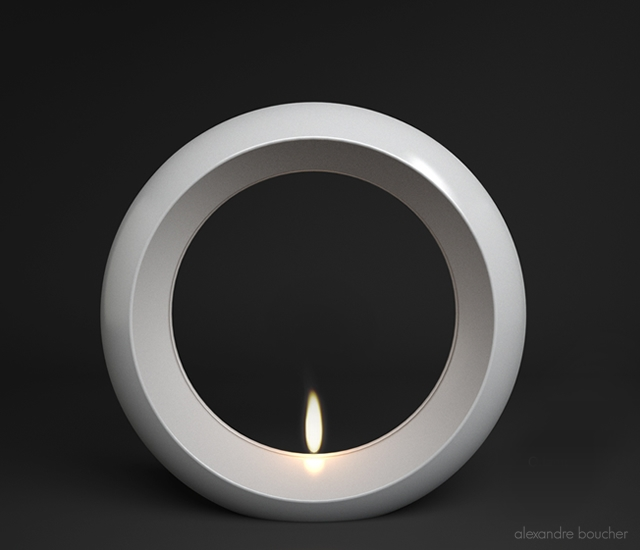 O(il) lamp | Image courtesy of Alexandre Boucher