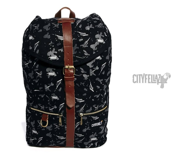 City Fellaz Tucamo backpack | Image courtesy of City Fellaz