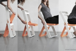 Folding chair by Pawel Kochanski - thumbnail_4