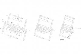 Folding chair by Pawel Kochanski - thumbnail_6