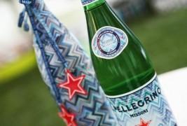 San Pellegrino water dress up in Missoni - thumbnail_1