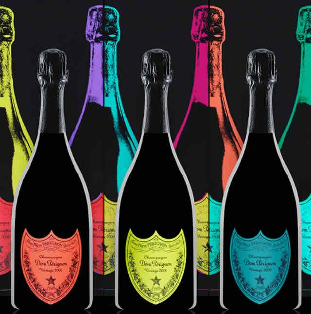 Dom Perignon omaggia Andy Warhol