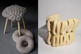 Knitted stools - thumbnail_3
