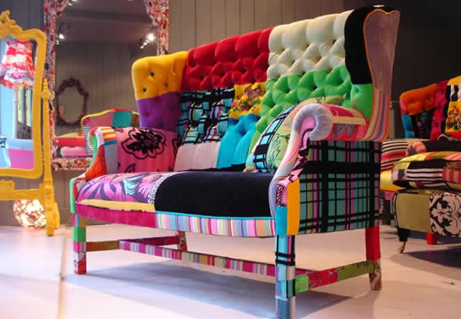 Patchwork furnitures