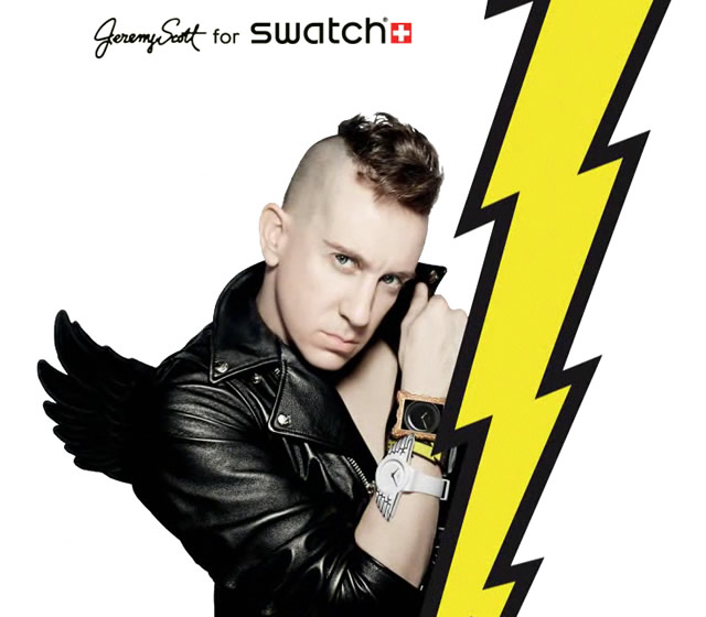 Jeremy Scott for Swatch