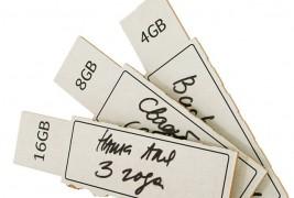 Cardboard usb pen drive - thumbnail_1