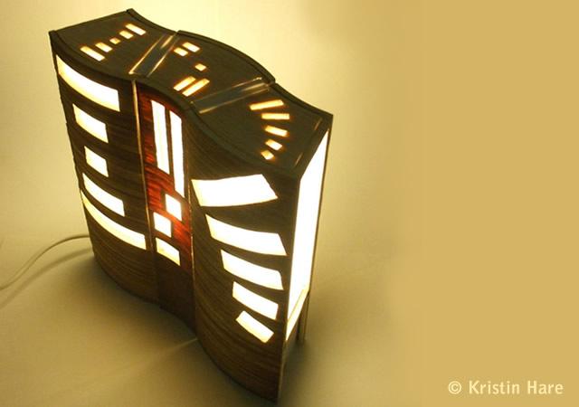 Reconfiguration modular lamp