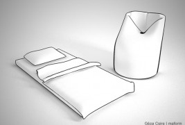Rolly armchair-bed - thumbnail_1
