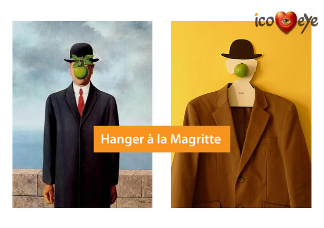 Hanger a la Magritte