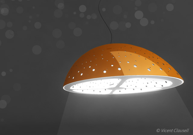 Orangeta lamp