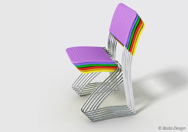 Dress-me chair