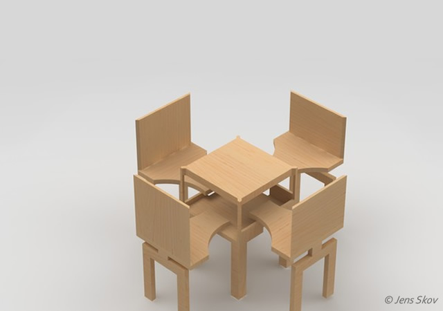 CafeCoffey sustainable seatting