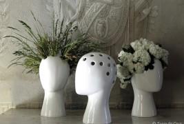 Wig ceramic vase - thumbnail_4
