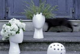 Wig ceramic vase - thumbnail_5