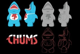 Chums vinyl toy - thumbnail_5