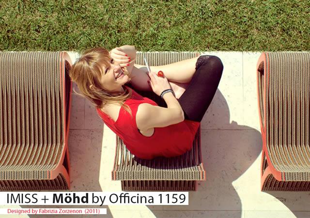 Imiss+Mohd cardboard furniture