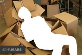 Cardboard chair - thumbnail_1