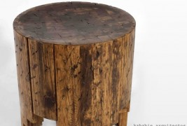 Salmi Negativo wood stool - thumbnail_3