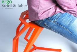 Ergo stool and table - thumbnail_3