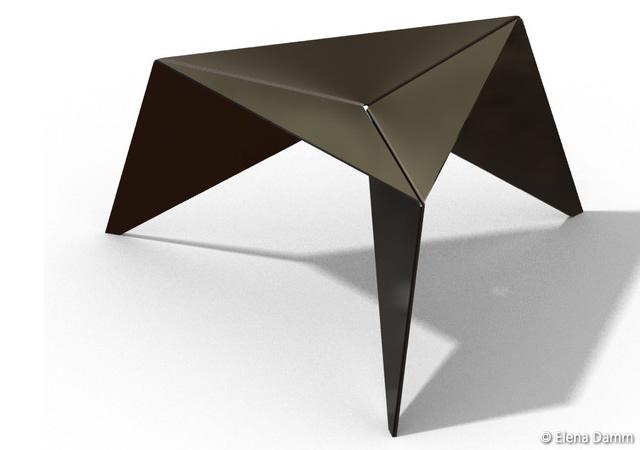 Geometric stool