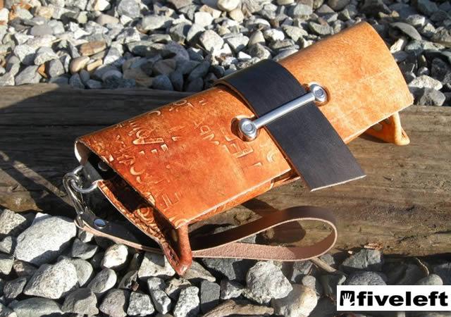 Fiveleft leather