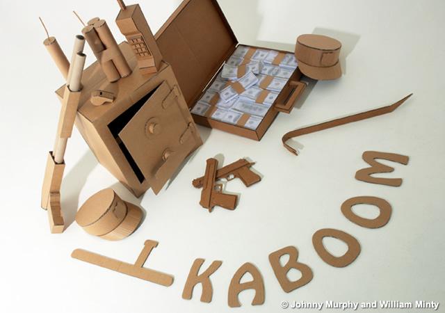 Cardboard Robbery