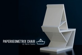 Papergeometrix chair - thumbnail_2