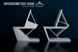 Papergeometrix chair - thumbnail_4