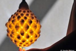 Knit felt lamp - thumbnail_4