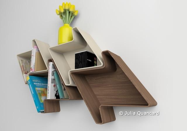 Pied-de-Poule modular shelf