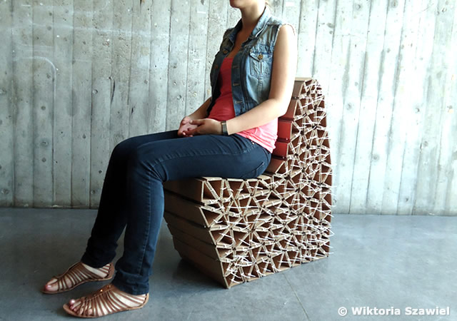 Caterpillar chair