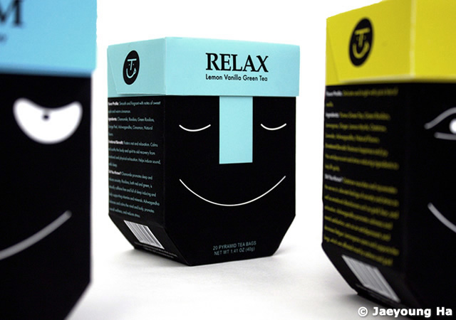 Tea Cup packaging design