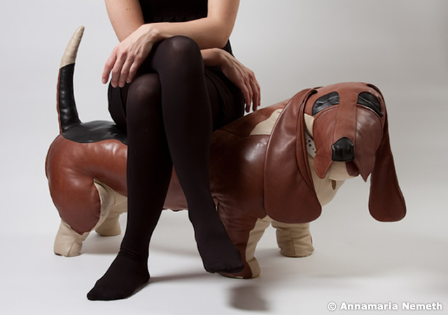 Dog shaped furniture