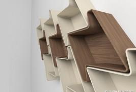 Pied-de-Poule modular shelf - thumbnail_2