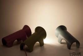 Lion Penseur lamp - thumbnail_3