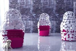 Matreshka armchair - thumbnail_6