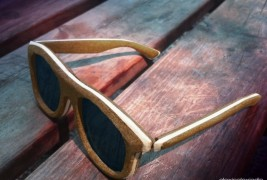 Wooden sunglasses - thumbnail_1