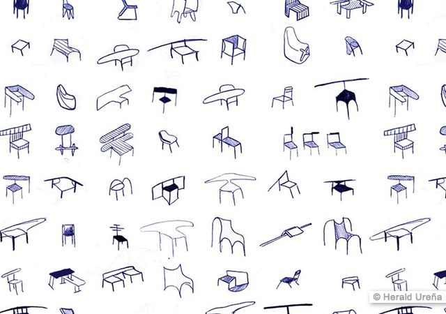 Arms Up chair series