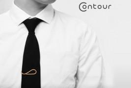 Contour Tie Clips