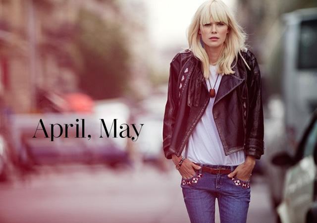 April, May primavera/estate 2012