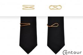 Contour Tie Clips - thumbnail_3