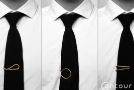 Contour Tie Clips - thumbnail_4