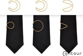 Contour Tie Clips - thumbnail_5